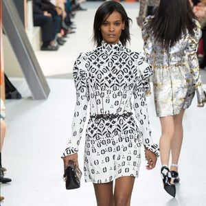 NWT Louis Vuitton Silk & Wool Sweater Reverse Mono